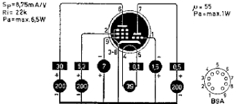 ucl bureau ucl 81 ucl81 röhre ucl 81 id2419 triode beam power t
