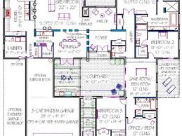 small house plans with courtyards modern plan house treesranch