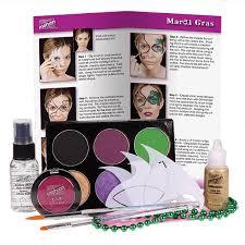 mardi gras material mehron mardi gras premium character makeup kit ready cosmetics