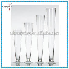 20 Glass Vase Round Tall Trumpet Wholesale China 20 Glass Cylinder Vase Buy