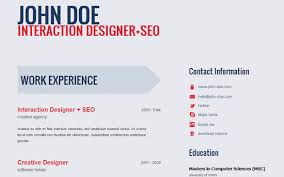 resume html template 25 free html resume templates for your successful