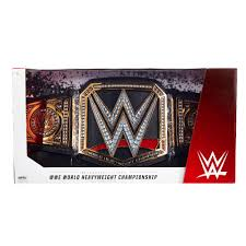 wwe world heavyweight championship collectible title belt toys