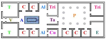 Sample Floor Plan Of A Restaurant Roman House