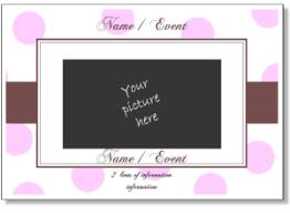 cute printable card templates add a photo to cute card templates
