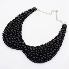 black large necklace images Necklace pearl ring natural pearl necklace freshwater pearls jpg