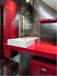 red ensuite bathroom design ideas renovations amp photos medicine