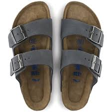 Birkenstock Beds by Arizona Suede Leather Soft Footbed Stone As If I Need More Shoes