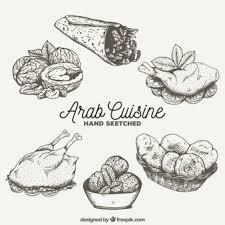 arabian food vectors photos and psd files free download