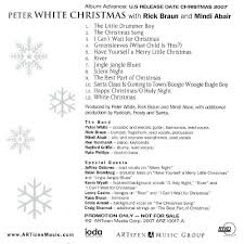 peter white christmas peter white songs reviews credits