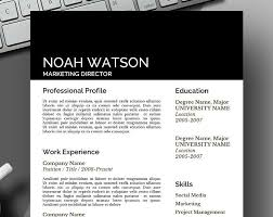 122 best resume template for instant download images on pinterest