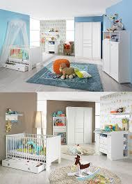 babyzimmer len babyzimmer set leni komplett kinderzimmer in weiß 3 teilig
