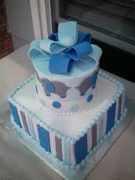 baby showers jcakes blue elephant baby shower cake erniz