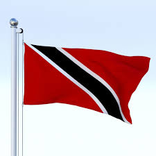 Flag For Trinidad And Tobago Animated Trinidad And Tobago Flag 3d Asset Cgtrader