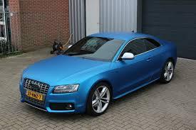 matte audi s5 audi s5 matte blue wrap view more matte car wraps ideas just like