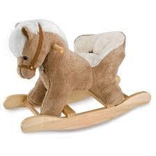 siege a bascule bebe cheval à bascule bébé avec siège avec effets sonores douho1210