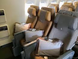 Boeing 777 Seat Map Flight Review Singapore Airlines New Economy Class Muc Sin