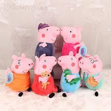 Peppa Pig Plush 12 Inch Peppa Pig Soft Toys George Pig Stuffed Animals Teddy