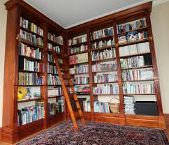 Bookcase With Ladder Best Trendy Floor To Ceiling Bookcases With Ladder 1324