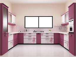 sweet kitchen color design with purple accents color combined u