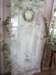 Antique Lace Curtains Astonishing Vintage Inspired Lace Curtain By