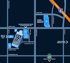Orange County Convention Center Map Hotels And Directions Blizzcon 2017