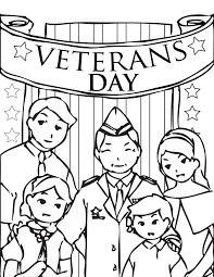coloring pages for veterans u0027 day holidays and observances