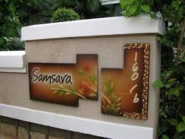 Best Name Plates Images On Pinterest Environmental Graphics - Name plate designs for home