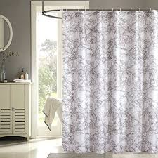 bathroom shower curtains ideas uphome modern trend style brown marble pattern