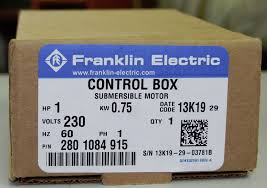 franklin electric 2801084915 fe 1 0 hp control box for 3 wire