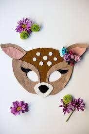 no sew free felt animal mask patterns flax twine