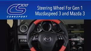 mazda steering wheel cs steering wheel for gen 1 mazdaspeed 3 and mazda 3 youtube