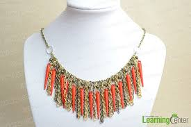 make chain necklace images Chic homemade necklace make your own chain necklace with 3 easy jpg