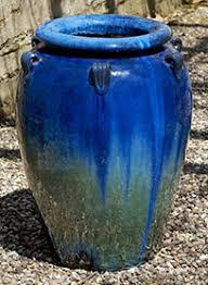 tall blue ceramic pots ceramic pots tall ceramic table lamps