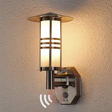 Motion Sensor Patio Light Lighting Patio Lights Lowes With Motion Sensor Outdoor Wall Light