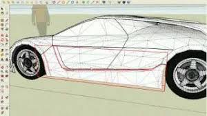 modeling a supercar in sketchup part4 6 youtube
