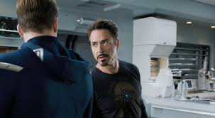 the avengers movie trailer tony stark and steve rogers turn the
