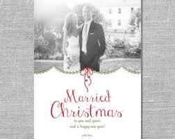 married christmas cards shining inspiration married christmas cards not photo