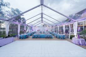 clear wedding tent clear tent wedding in orlando tentlogix