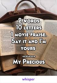 words 10 letters 1 movie fraise say it and i u0027m yours my