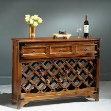 wine console table foter