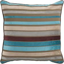 Surya Home Decor Surya Area Rugs Accent Pillow Js 024 Teal Beige Pillows
