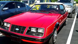 1983 mustang glx convertible value 1983 ford mustang glx convertible 3 8l v6 start up tour