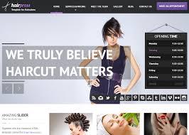 top 5 spa beauty nail salon hair stylist html5 templates