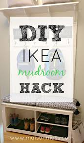 diy ikea mudroom hack u2022 maison mass