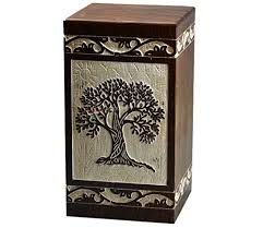 urn ashes tree of urns for human ashes by india craft