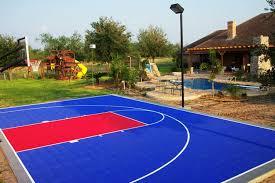 backyard basketball court flooring basketball surface basketball floors exhibit sports courts