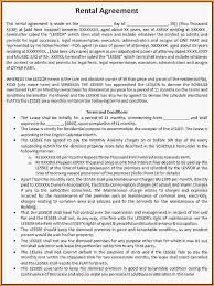 13 rental contract agreement loan application form
