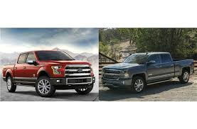 Ford F 150 Truck Bed Dimensions Ford F 150 Vs Chevrolet Silverado Head To Head U S News
