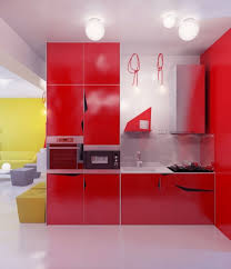 kitchen best red kitchen decor with red cabinet and fascinating