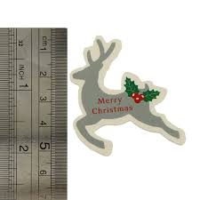 merry christmas cupcake toppers cake decorations 4 different